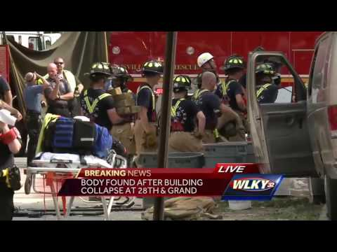 Breaking news: Body found after building collapse
