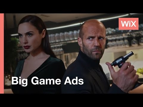 Wix Big Game Campaign | Build Your Own Website