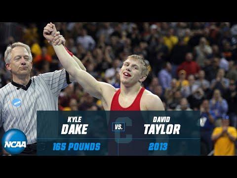 Kyle Dake Vs. David Taylor: 2013 NCAA Title Match At 165 Pounds