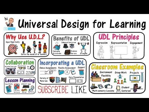 Universal Design For Learning: UDL