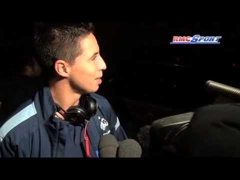 """Équipe de France / Nasri : """"Ma joie sur le but a été différente cette fois"""" - 10/09"""