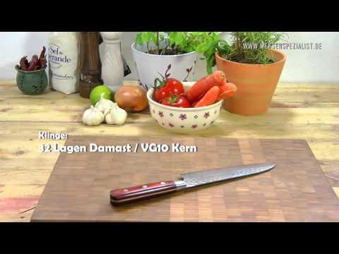 Sakai Takayuki Messer bei Messerspezialist