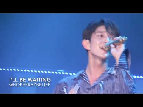 [HD] Lee Joon Gi Singing EXO-For You in Singapore Thank You Concert