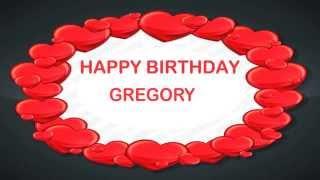 Gregory   Birthday Postcards & Postales - Happy Birthday