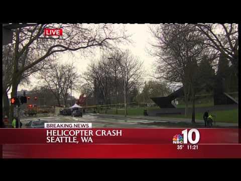 WCAU Breaking News Seattle Helicopter Crash Mar 18 2014