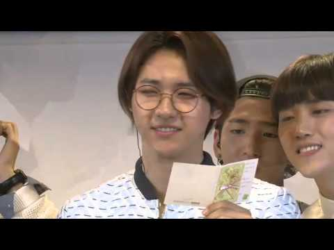 Letter from CNU to JINYOUNG