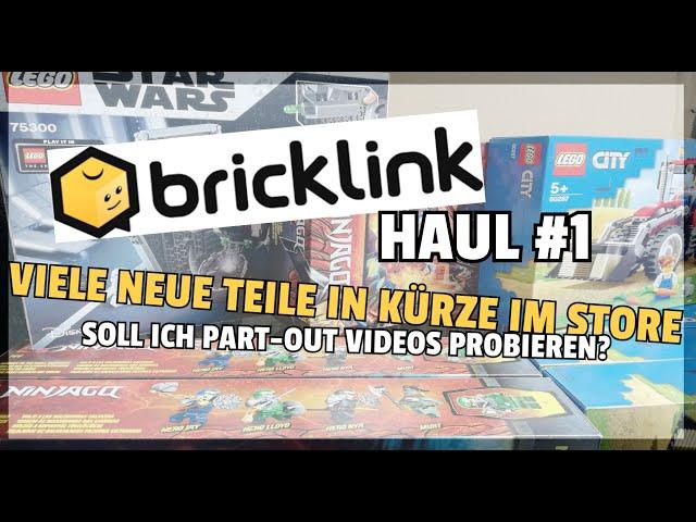 4k neue Teile für den BrickLink Store :O! | Haul #1 | Und Danke!