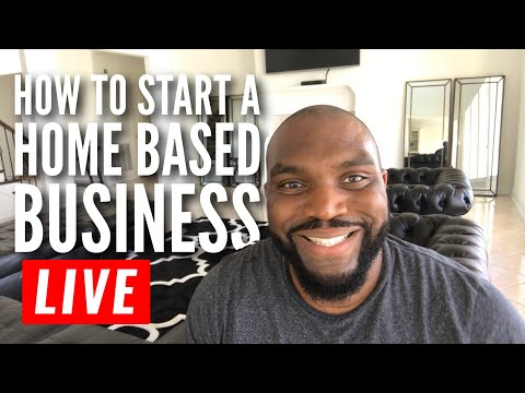 How to  start a legitimate Home Based Business | Live Q&A