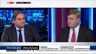 Watch David Campbell Bannerman MEP on Sky News - what are MEPs doing about Brexit?