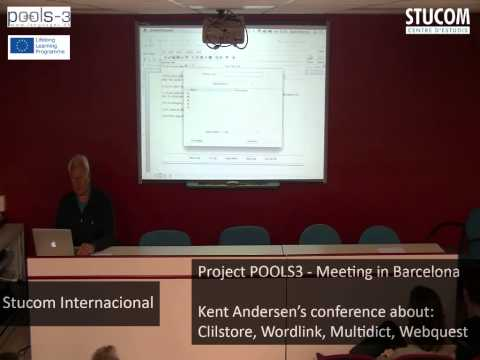 Stucom Centre d'Estudis: Project Pools3 Meeting in Barcelona