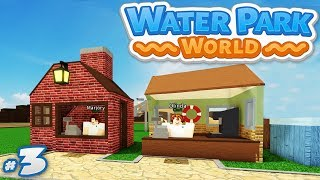 #3 mondo parco acquatico - HIRING NEW STAFF CLERKS (Roblox Water Park World)