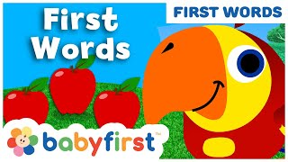 Apple | What is it?  | Vocabularry | BabyFirst TV