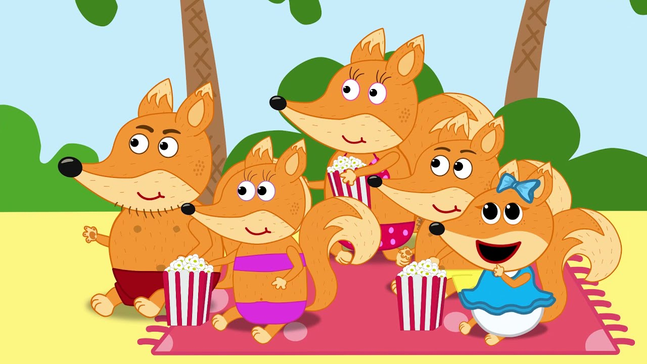 the fox family and friends cartoon - best funny moments  815