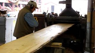 Planer At Mystic Seaport