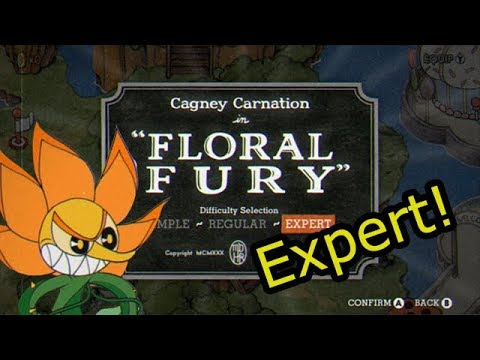 Cuphead - Floral Fury [Expert]