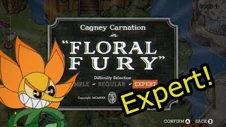 Cuphead Floral Fury Expert