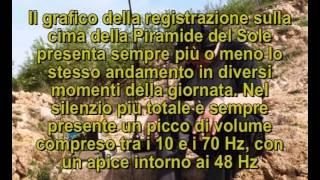 Infrasuoni e basse frequenze sulla Piramide del Sole bosniaca