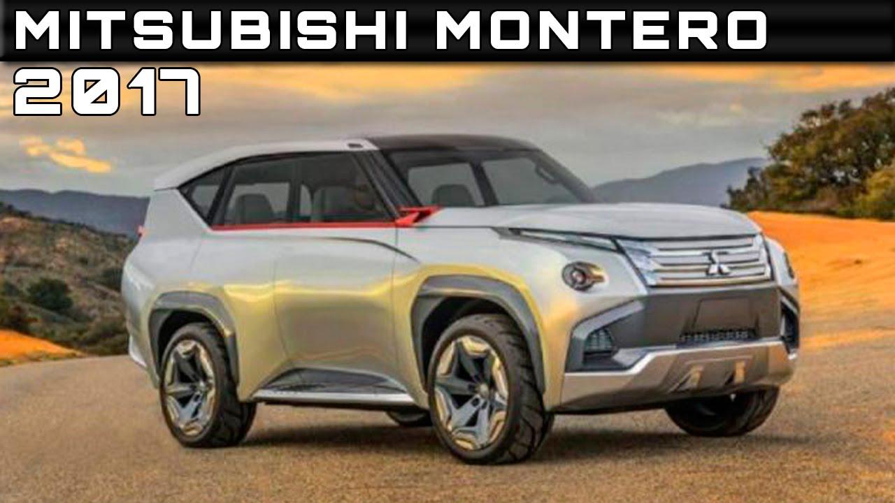2017 Mitsubishi Montero Review Rendered Price Specs Release Date