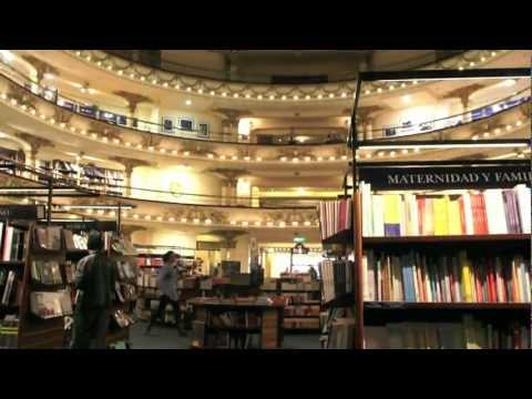 旅する鈴木208:The world's second great bookstore @Argentina