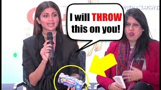 Shilpa Shetty Gets ANGRY On Media For Stupid Questions