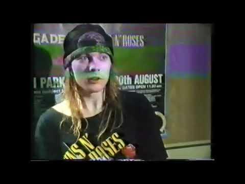 Axl Rose о группе Iron Maiden