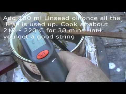 Liming Rosin, violin varnish