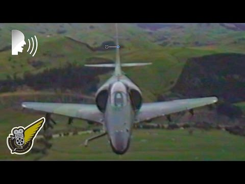 RNZAF A-4 Skyhawks On Low Level Sortie