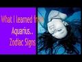 What Aquarius Teaches Us..