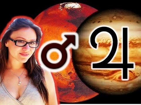 Jupiter Aspect Mars in Astrology