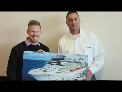 2015 Surprise Celebrity Cruise Prize Delivery