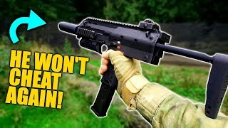 Full Auto Cheater vs Airsoft MP7