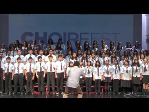 The Winchester School Choir Say Something ChoirFest