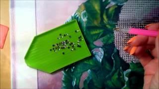 видео алмазная вышивка