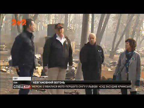 СПЕЦКОР | Новини 2+2: Трамп відвідав спалені місця в Каліфорнії