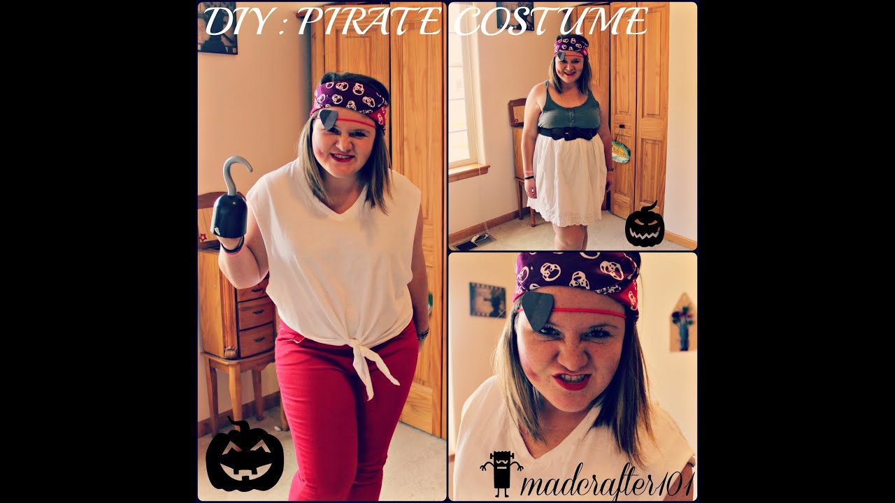 Diy pirate costume youtube diy pirate costume solutioingenieria Gallery