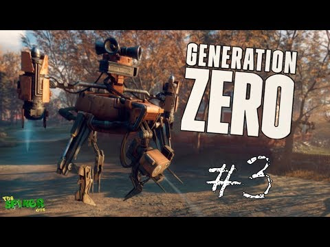 Generation Zero-Боевые роботы атакуют.ФЕРМА РОБОТОВ #3