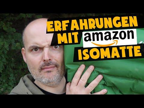 Günstige Isomatte auf Amazon - Erfahrungen | Draußen Schlafen