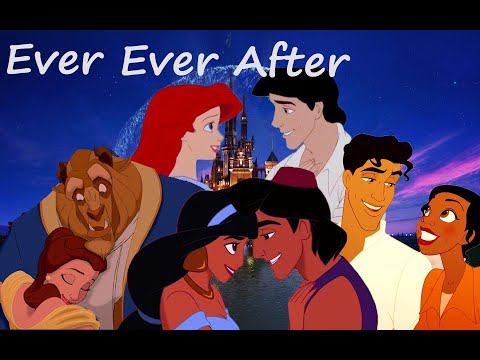 ever-ever-after---disney-couples:-ariel,tiana,jasmine,belle