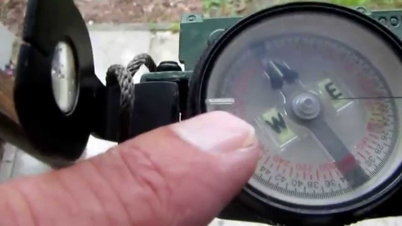 How to use a compass to set up a Satellite Dish