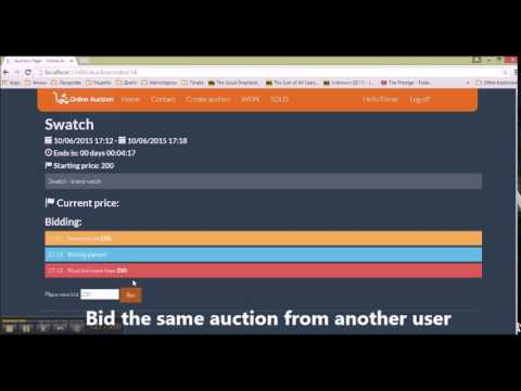 Application for Online Auction
