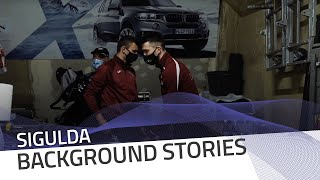 Inside the Team Latvia garage | IBSF Official