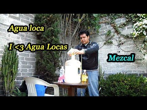 Como hacer agua loca rica y facil # 2 Puro style  Mohay 
