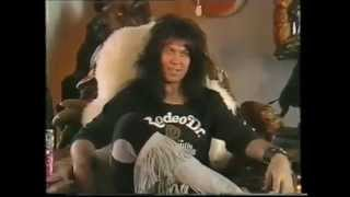 Blackie Lawless is an asshole, plus the Blind In Texas video