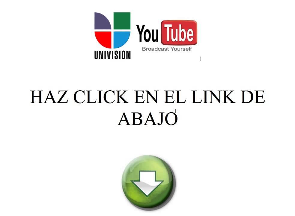 Ver Univision En Vivo Por Internet Youtube