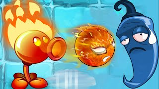 Plants vs. Zombies 2 - Fire Peashooter!