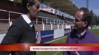 EL DR. GARCÍA ENTREVISTA CON PEREZ CAMINERO EN LA GIRA CASKARITA PARA LUISGARCIA.MXCaminero