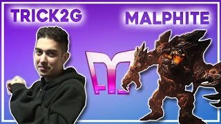 Trick2g - Malphite - Jungle  (Ranked Gameplay)