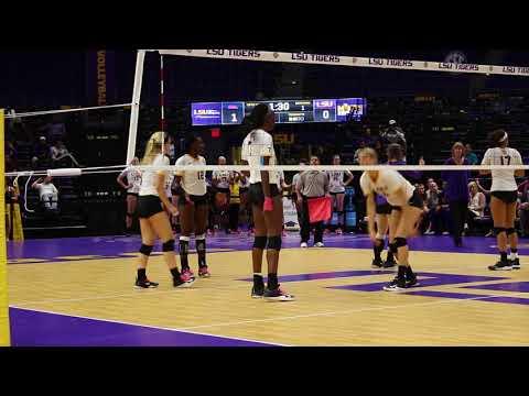 RAW HIGHLIGHTS | LSU VS OLE MISS (VOLLEYBALL)