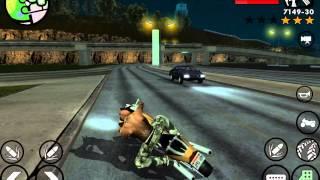 видео GTA San Andreas на iPad mini (iPad лагает)