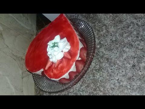 fraisier-🍓🍓ولا-اروع-وصفة-جد-سهلة